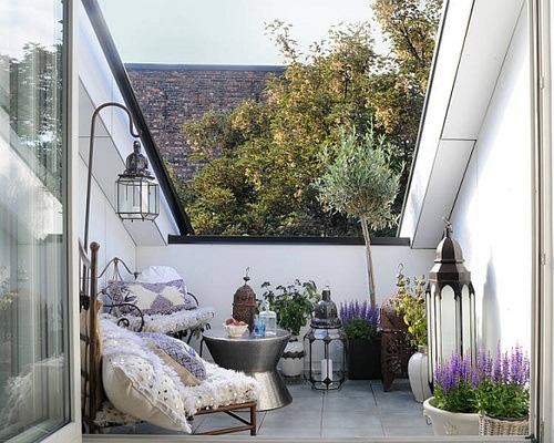 Balcones con encanto la habitaci n de ana for El jardin romantico