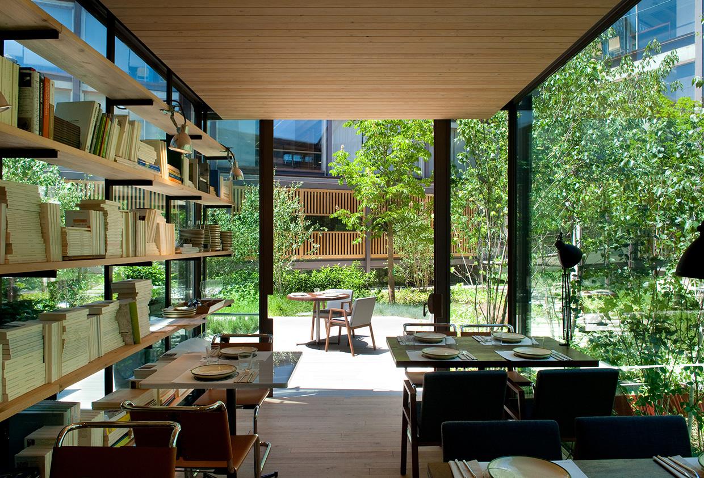 Bosco de lobos gastronom a y dise o la habitaci n de ana for Restaurante arquitectura