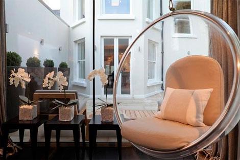 Hanging chair sillas que flotan en el aire la - Silla colgante ikea ...