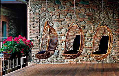 Hanging chair: sillas que flotan en el aire (5/6)