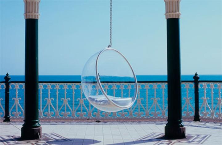 Hanging chair: sillas que flotan en elaire
