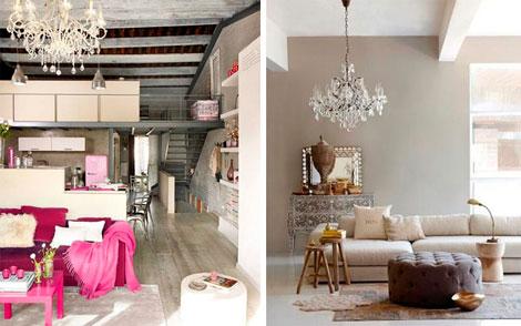 C mo integrar piezas antiguas en una decoraci n actual - Muebles de salon antiguos ...