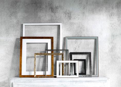 Ideas para enmarcar cuadros la habitaci n de ana for Cuadros abstractos con marco