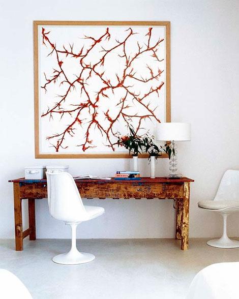para obras o casas poco luminosas apuesta por marcos que aporten luz como los de color blanco dorado o plateado