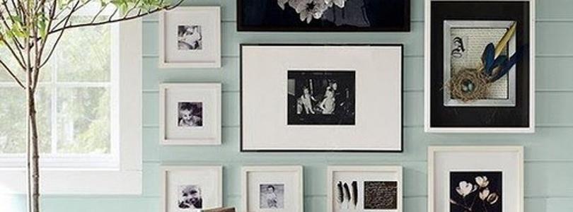 Ideas para enmarcar cuadros la habitaci n de ana - Enmarcar lienzo ...