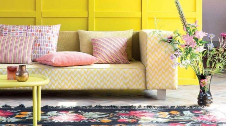 ¡Yellow! Interiores con toques deamarillo